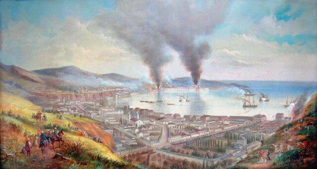 Bombardeo del puerto Valparaíso (Chile)