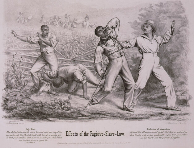 The Fugitive Slave Act is Passed