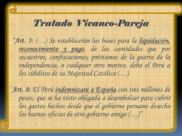 Tratado Vivanco-Pareja