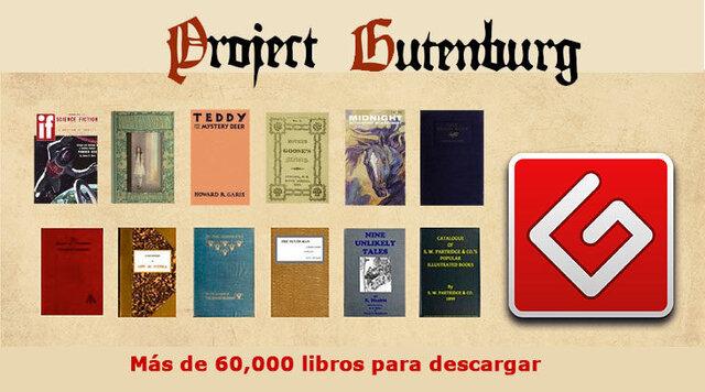 E-BOOKS Y Proyecto Gutenberg