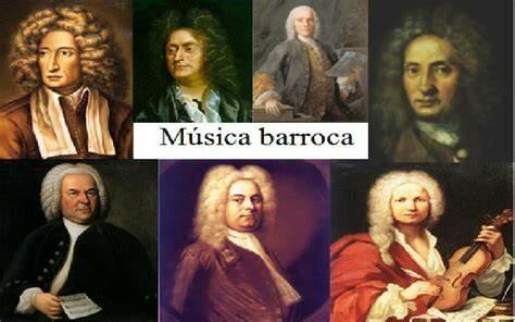Compositores importantes del barroco.