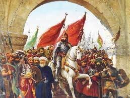 Conquista de Constantinopla por el Imperio Turco