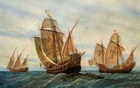 Expedición de Cristóbal Colón.