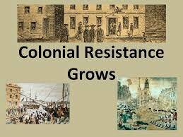 Colonial Resistance