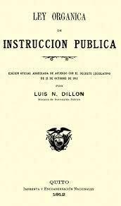 Ley Orgánica de Instrucción Pública