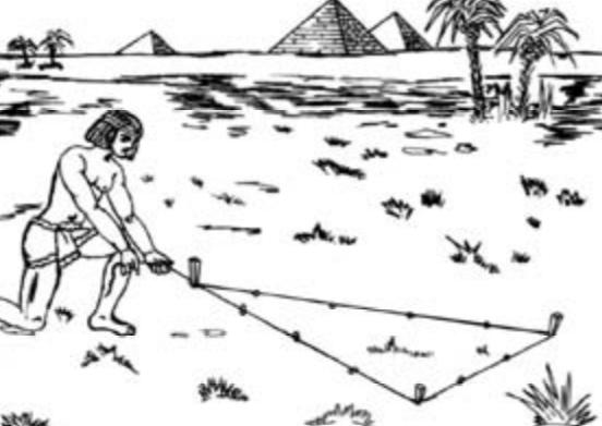 2000 A.C. EL TEOREMA DE PITÁGORAS EN EGIPTO