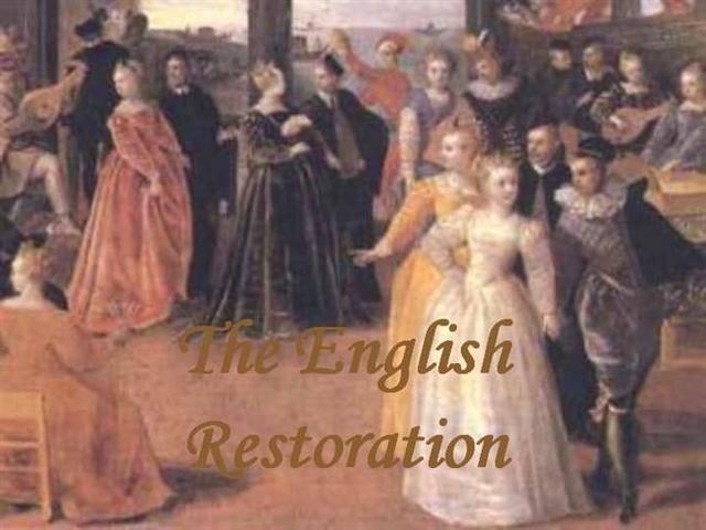 Restoration age