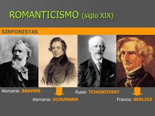 Artistas de romanticismo.