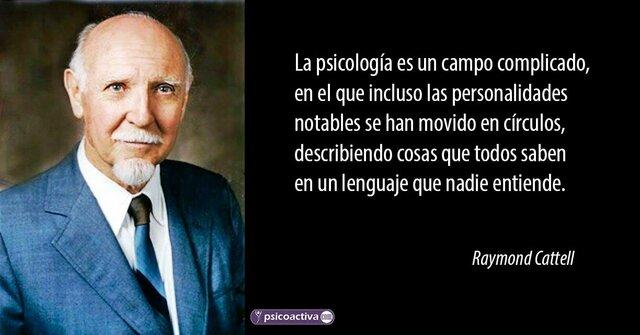 1947-1965-1978 Raymond Cattell