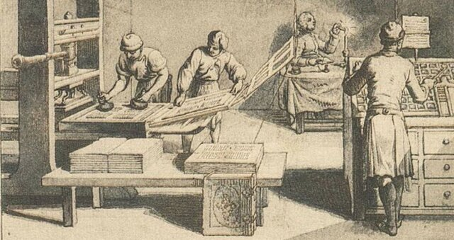 The development of the Printing Press