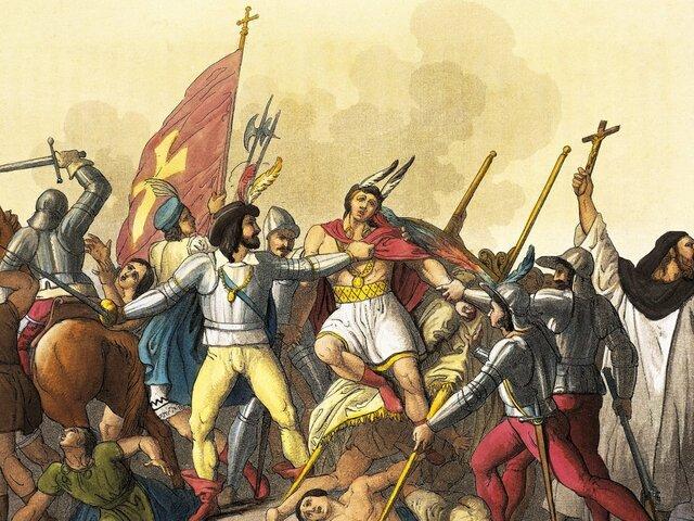The conquest of Peru