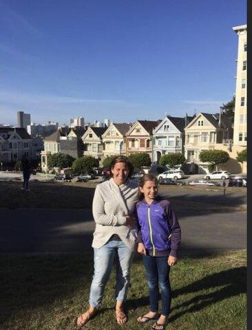 I went to San Francisco