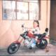 Vane en moto