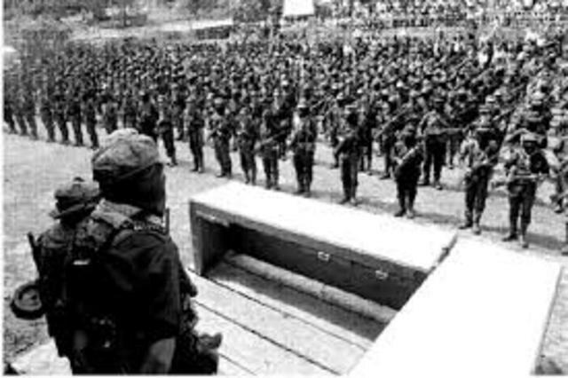 Aparición pública EZLN y se levanta en armas
