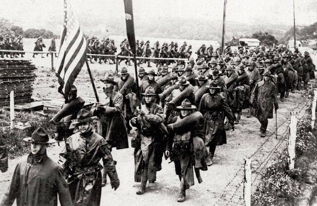 Estados Unidos a la guerra
