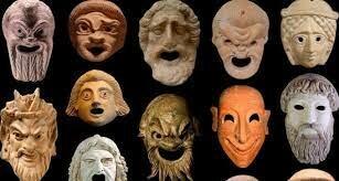 Máscaras del teatro griego