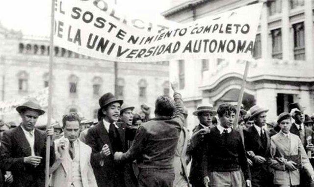 Tercera reforma: La autonomía universitaria a nivel constitucional.