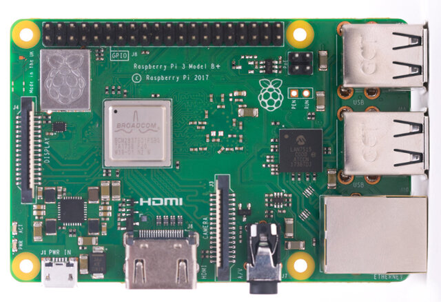 The first Raspberry Pi launched