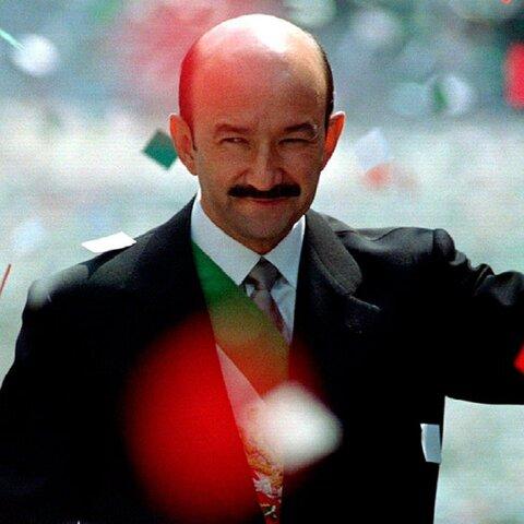 Entrada de Carlos Salinas de Gortari a la presidencia