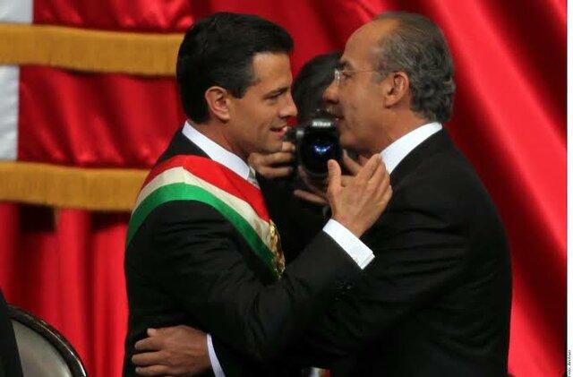 Peña Nieto entra a la presidencia
