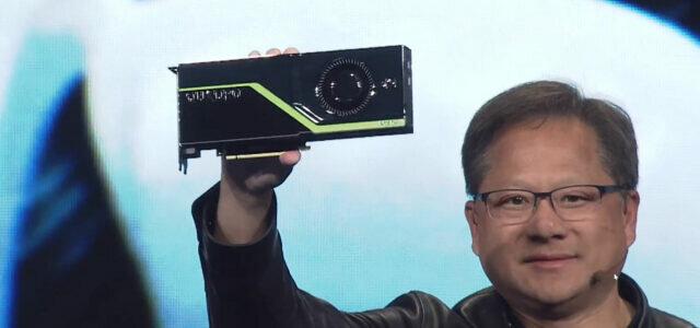 Nvidia Unveiled Quadro RTX