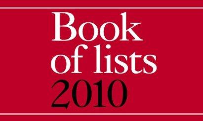 libro de lista de 2010