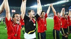 España va guanyar per segona vegada una eurocopa