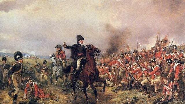 1815 - La derrota de Waterloo marca la fi del poder militar de Napoleó.