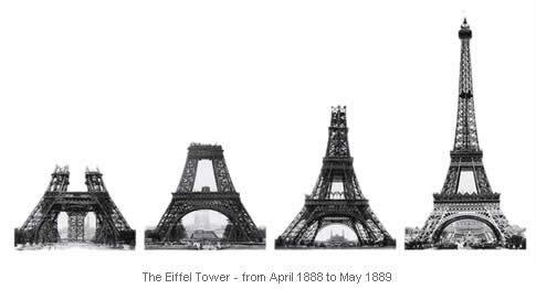 1889 – La Torre Eiffel, una mostra de l'arquitectura del ferro del s.