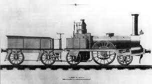 Primera locomotora de vapor a la Península Ibèrica