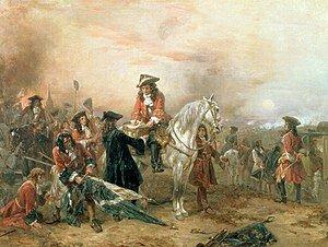 Guerra de successió entre la corona de la Castella i la corona catalanoaragonesa.