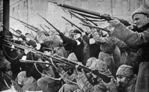 1917 – La revolució russa instaura un règim socialista (URSS).