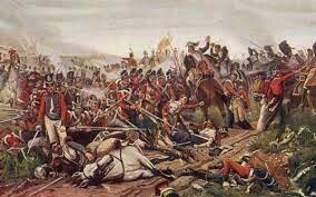 La derrota de Waterloo marca la fi del poder militar de Napoleó.