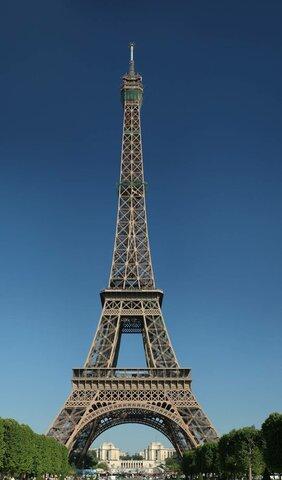 La Torre Eiffel, una mostra de l'arquitectura del ferro del s. XIX