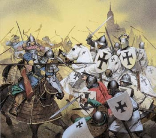 Mongol's into Europe