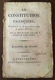 Primera Constitución Francesa