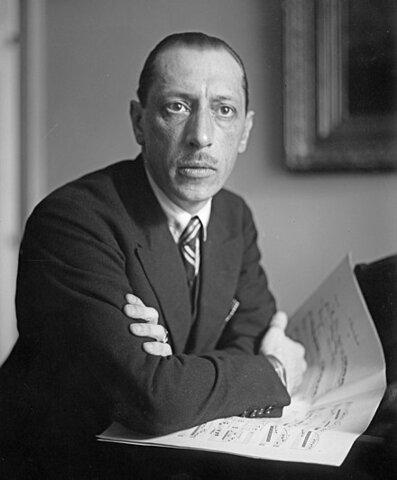Ígor Stravinski. (1882-1971).