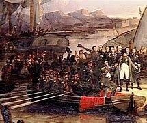 Napoleon returns to Paris