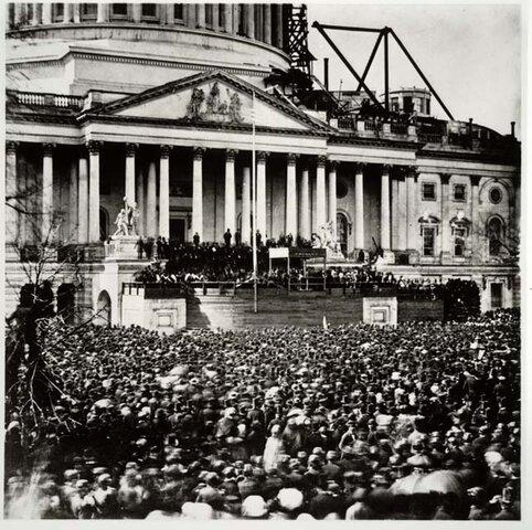 "Lincoln's 1"" inaugural Address"