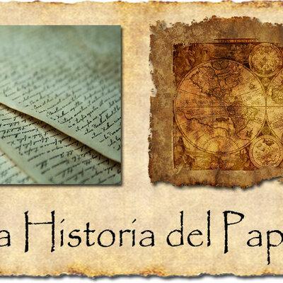 historia del papel timeline