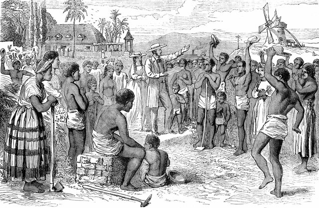 Slave Trade Ends in the United States