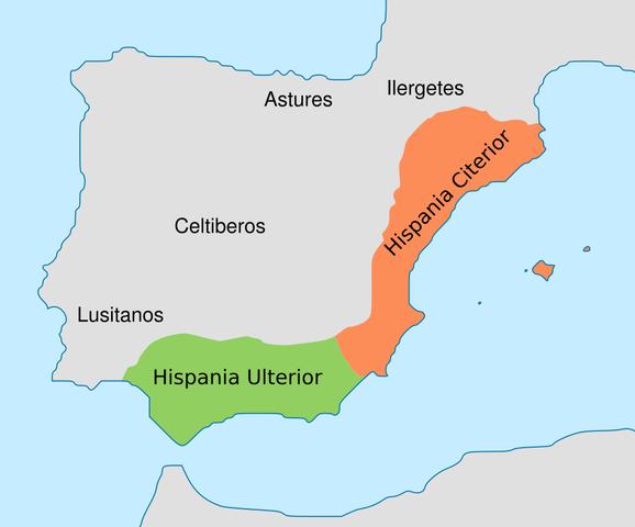 Divisió Romana d'Hispània