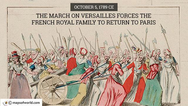 March in Versailles