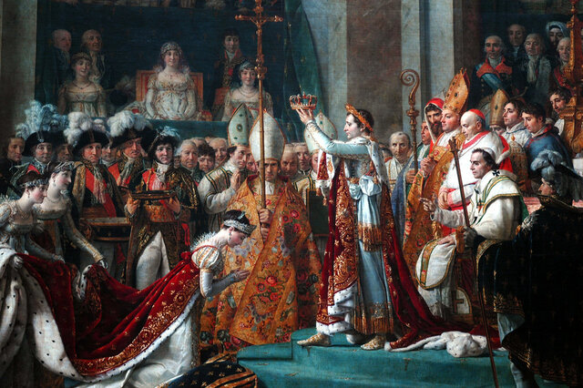 The crowning of Napoleon I