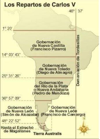 División de América del Sur