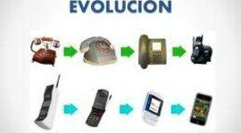 Evolución del telefono fijo timeline