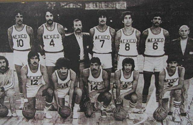 Primer partido profesional de baloncesto en México