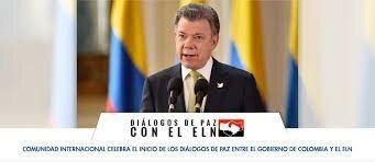 los diálogos entre el Gobierno Nacional y el ELN