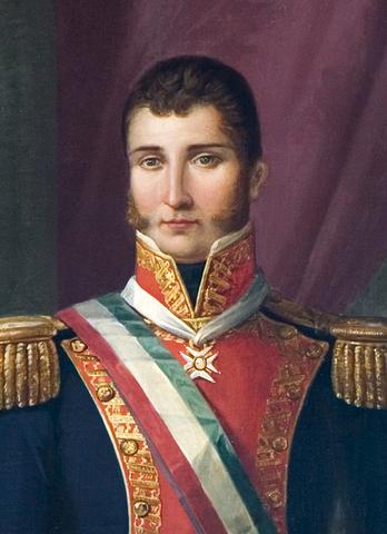 Agustín de Itubide se declara Emperador
