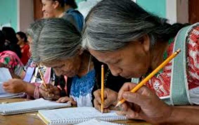 La alfabetización y los propósitos mostraban grandes avances.